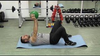 Пуловер – упражнение для мышц спины и груди дома. Упражнение, которое укрепляет грудь и спину!