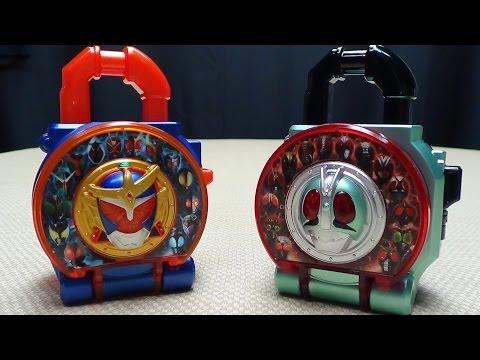 Kamen Rider Gaim DX HEISEI VS SHOWA LOCK SEEDS: EmGo's Kamen Rider Reviews N' Stuff
