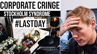 CORPORATE CRINGE  - EMPLOYEE STOCKHOLM SYNDROME  | #grindreel