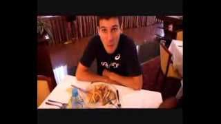 Dernier repas avant sa finale Pierre Ambroise Bosse