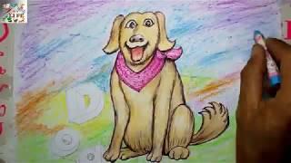 Wie zeichnet man einen Cartoon-Hund-Einfach für Kinder-Schritt für Schritt