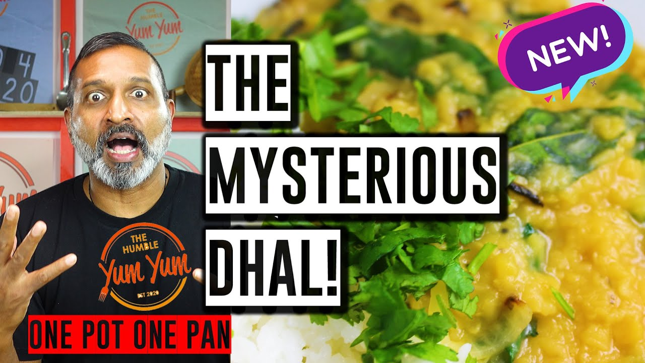 THE MYSTERIOUS DHAL! Feed 4 for under $20! ONE POT - ONE PAN