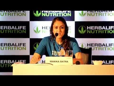 Tennis Sensation Manika Batra Becomes New Face of Herbalife Nutrition   Manika batra CWG 2018