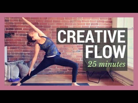 Creative Vinyasa Flow - Advanced Sequences Full Body Flow {25 min}