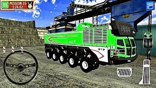 Construction truck game Quarry Driver 3: Giant Trucks- Android Gameplay HD #5