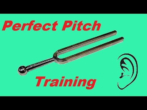 How to develop PERFECT PITCH - Training Video