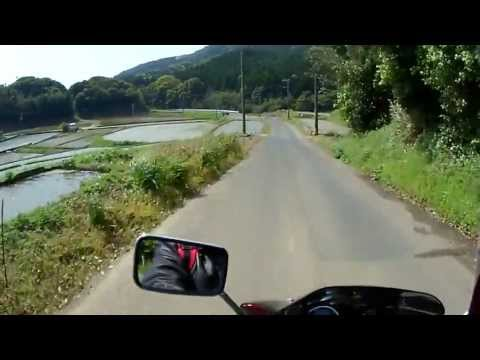 Motorcycle trip, Japan,バイクツーリングFukushima Island tour, long version, 福島町,バイク