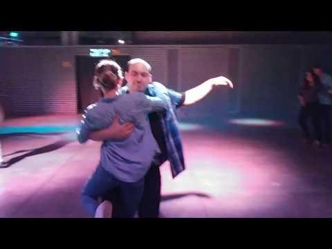 Nir David & Gilat Blumberger - Social Bachata - Latino Beat, Technion Haifa (13/04/18)