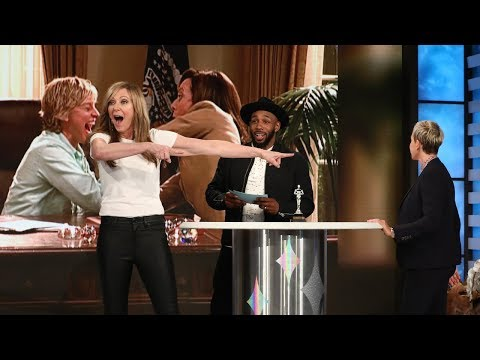 Allison Janney and Ellen Face Off in a Friendship Test