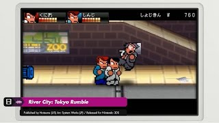 River City: Tokyo Rumble (3DS) - Story & Dodge Ball Mode Gameplay