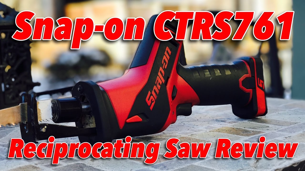 Snap on ctrs761 cordless reciprocating saw review youtube snap on ctrs761 cordless reciprocating saw review greentooth Image collections