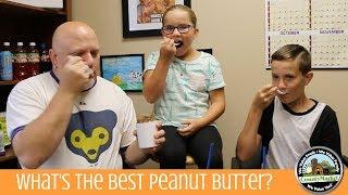 What's the Best Tasting Peanut Butter? Blind Taste Test