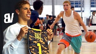 LaMelo Ball's FIRST JBA Practice + Contract Signing & Jersey Reveal - JBA Signing Day [REUPLOAD]