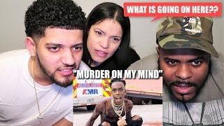 """MOM & MOM'S BF REACT TO YNW MELLY """"MURDER ON MY MIND"""" (IN DEPTH REACTION!)"""
