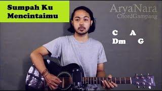 Chord Gampang (Sumpah Ku Mencintaimu - Seventeen) by Arya Nara (Tutorial Gitar) Untuk Pemula