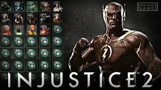 Injustice 2: The Flash Revealed, 40 CHARACTERS Playable, & MORE!