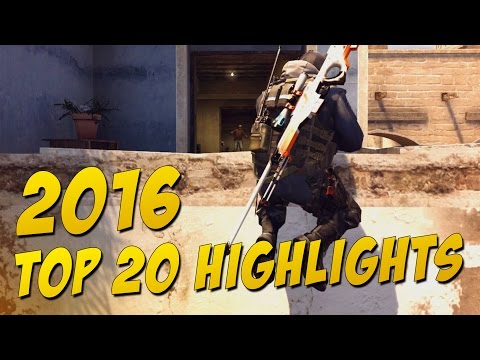 CS:GO - Top 20 Highlights of 2016