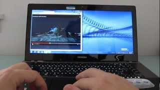 Toshiba Satellite U845W widescreen ultrabook review