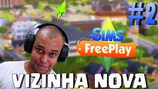 The Sims™ FreePlay  - ( Emprego , casa pronta e vizinha nova ! ) - Gameplay Android # 2