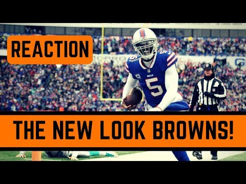 Buffalo Bills Trade Tyrod Taylor to the Cleveland Browns Reaction | The New Look Cleveland Browns