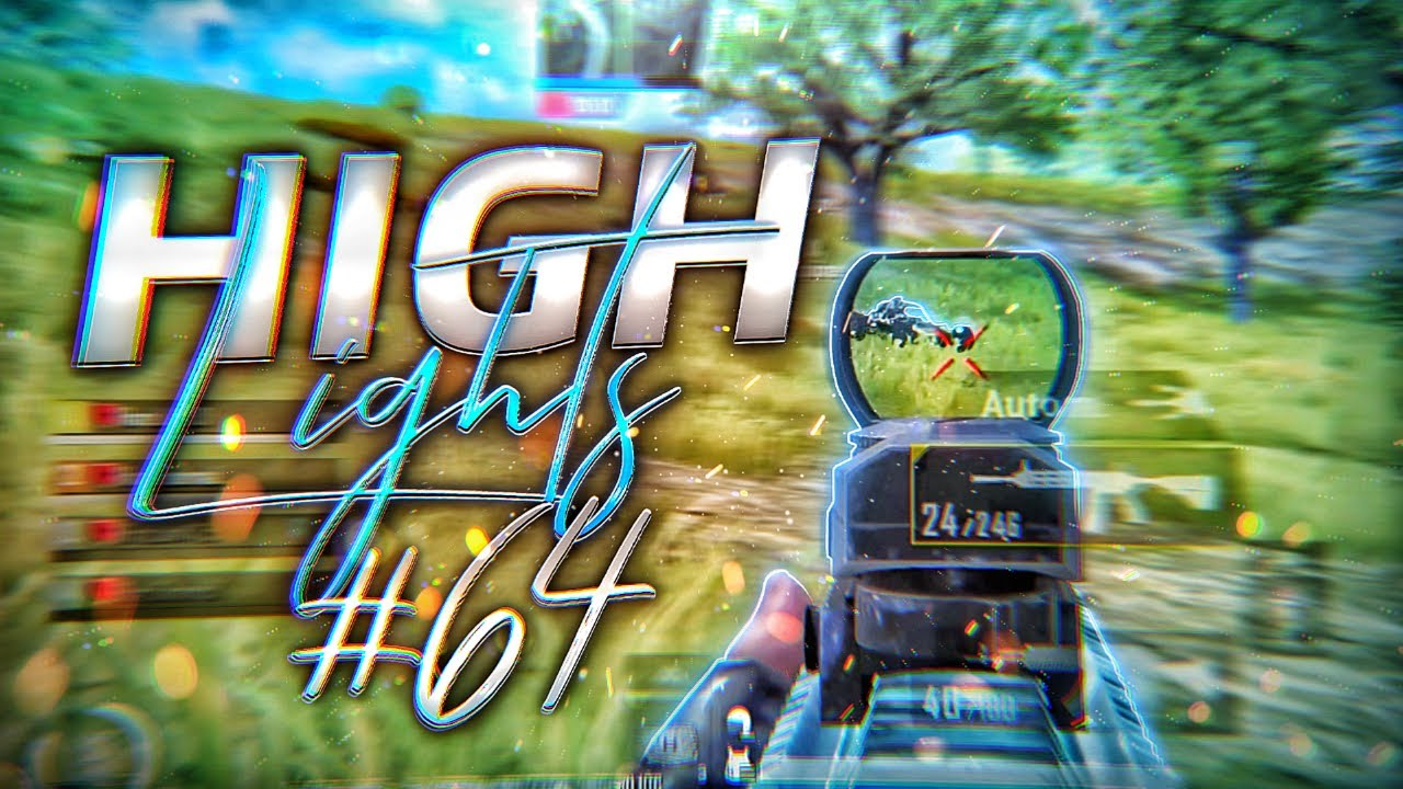 HIGHLIGHTS #64   PUBG MOBILE   IPHONE 12 PRO MAX