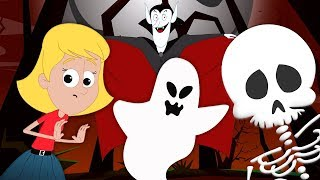 Halloween Noche | Halloween canción para niños | It's Halloween Night | Hello Halloween Spanish