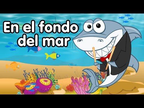 En el fondo del mar canciones infantiles