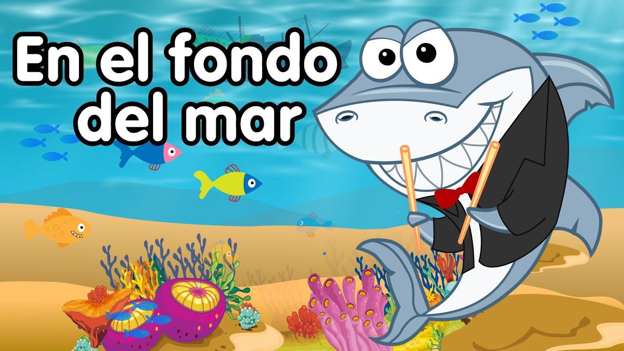 Dibujos De Animales Del Mar: En El Fondo Del Mar Canciones Infantiles