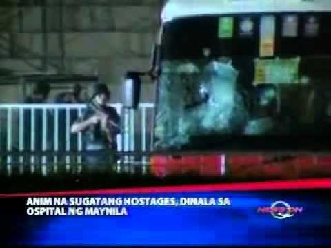 manila hostage taking philippines by a police Mendoza (swat) 2010