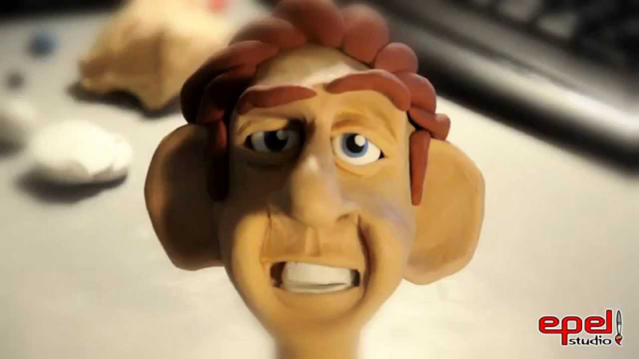character clay modelling youtube