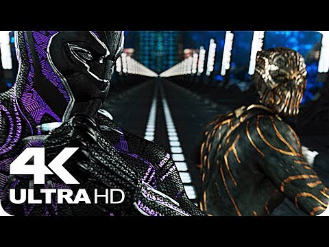 Black Panther Killmonger Fight Film Clip (2018)