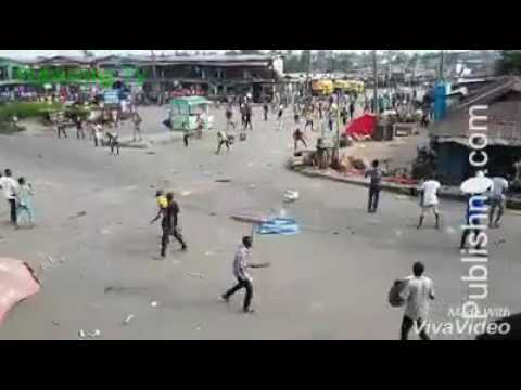 Thugs machete man to death in broad daylight during communal clash in Lagos Island