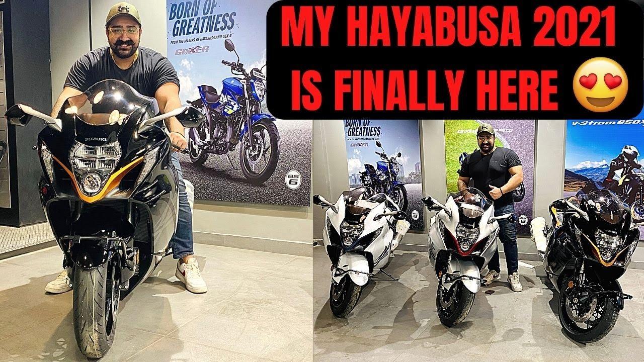 MY HAYABUSA 2021 IS FINALLY HERE!!! 😍😍❤️❤️