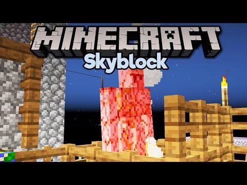 Low Key Iron Farm & Mending Trades! ▫ Minecraft 1.15 Skyblock (Tutorial Let's Play) [Part 10]
