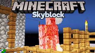 Low Key Iron Farm & Mending Trades! ▫ Minecraft 1.15 Skyblock (Tutorial Let's Play) [Part 10]
