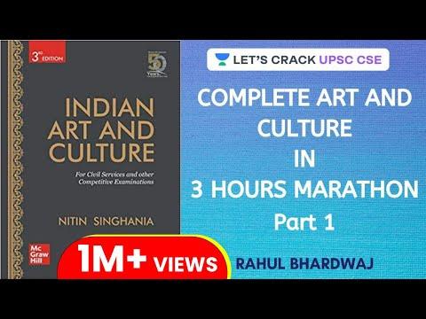 Complete Art and Culture - Nitin Singhania - Marathon Session (Part 1) | UPSC CSE/IAS