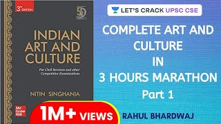 Complete Art and Culture - Nitin Singhania - Marathon Session (Part 1) | UPSC CSE Prelims 2020
