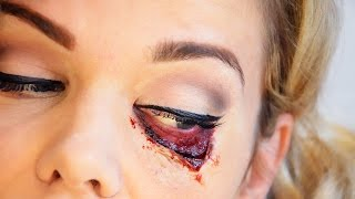 Eye-conic Blonde for Halloween - Super easy! Thumbnail