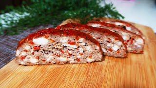 Мясной хлеб Готовлю вместо котлет Рецепт проще простого