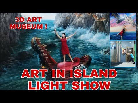 ART IN ISLAND 3D MUSEUM | ALIGIN VLOG