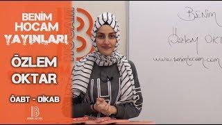 3)Özlem OKTAR - Tefsir Usulü - I /ÖABT - DKAB (2019)
