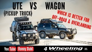 UTE vs WAGON, which is better Off-road