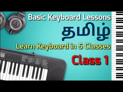 Basic Keyboard Lessons
