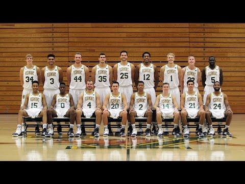 2016-17 Vermont Men's Basketball Team Introduction