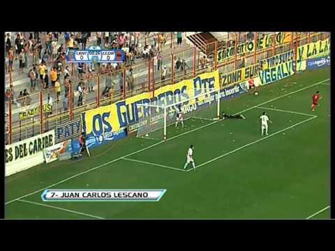 Gol de Lescano. Rosario Central 0 - Central Córdoba 1. 24avos de Final. Copa Argentina 2013. FPT