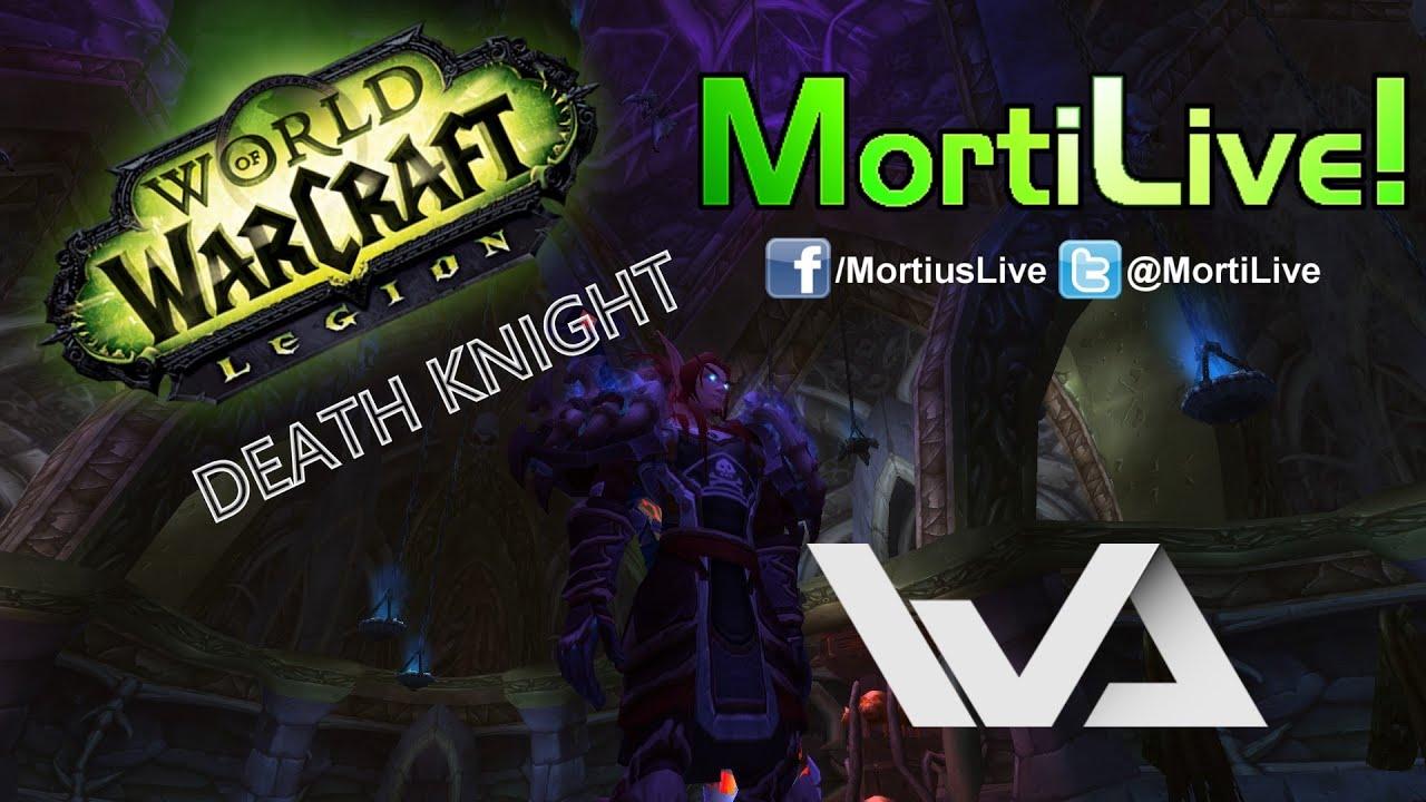 Death Knight UI / Weakauras + ElvUI Profile Patch 7 0 3