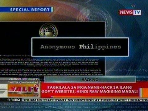 BT: Pagkilala sa mga nang-hack sa ilang gov't websites, hindi raw magiging madali