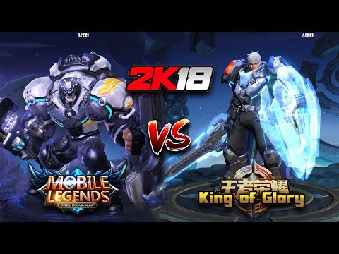 Mobile Legends VS King of Glory 2k18