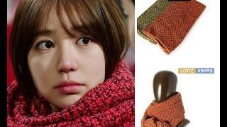 Hướng dẫn đan khăn 2# ( i miss you drama)