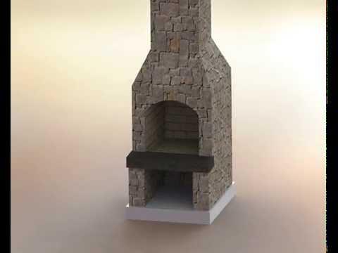 Stone Age Fireplace Kit Assembly